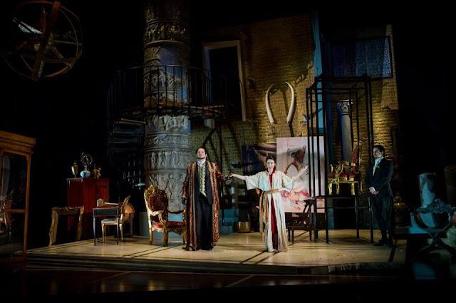Rupert Enticknap, Marie Lys, Simeon John-Wake - Handel Tamerlano - Buxton Festival - photo Robert Workman