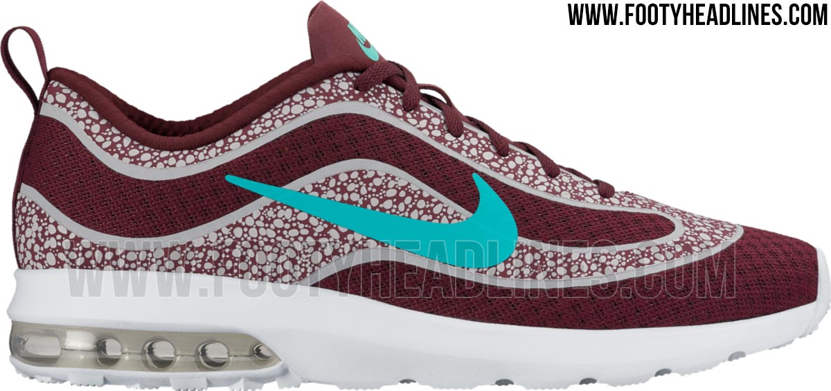 228ee4b04a4 Maroon   Turquoise Nike Air Max Mercurial R9 Shoes Leaked - Sports kicks