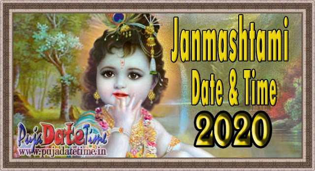 2020 Janmasthami Date & Time in India