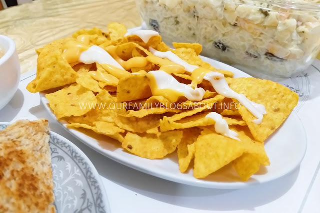 Cheesy Macaroni Salad, recipe, easy recipe, salad, pasta recipe, nachos