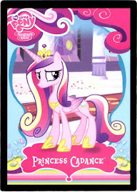 My Little Pony Princess Cadance Series 1 Trading Card