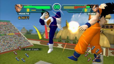 Dragon Ball Z Budokai PS2 GAME ISO Gameplay 1