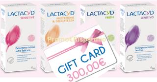 Logo Lactacyd premia la tua femminilità con voucher da 300 euro