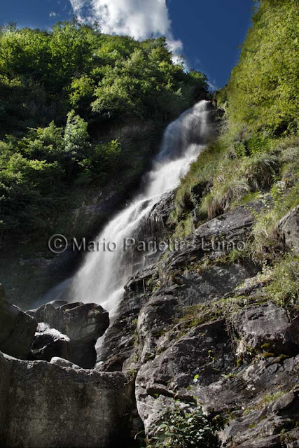 cascate in val maggia