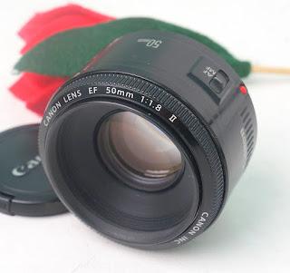Jual Lensa Canon Fix 50mm F 1.8 Bekas