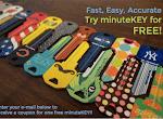 FREE Key Made at minuteKEY Kiosks