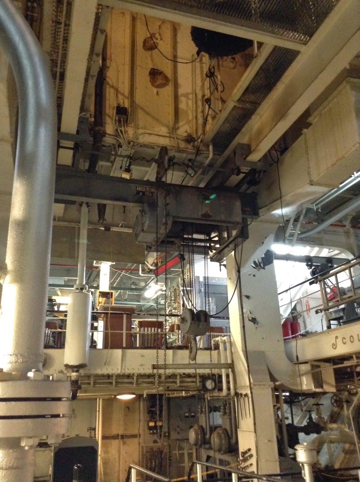 Big Ships Engine Rooms: The Old Northwest Notebook: Touring A 1911 Great Lakes