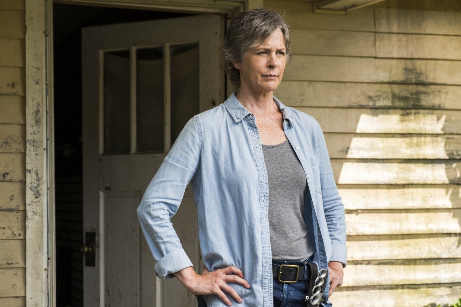 Carol, en el episodio New Best Friends de The Walking Dead