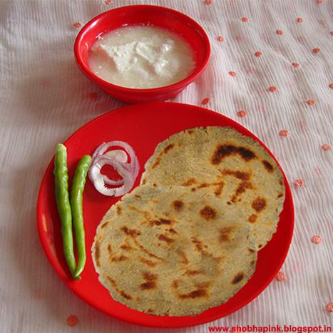Bajre Aur Keke Ki Roti