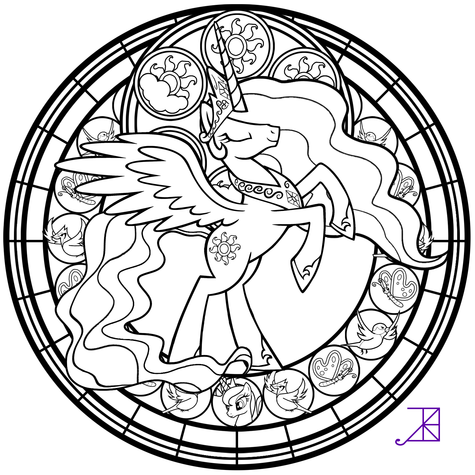 christion stain glass coloring pages | Christian Stained Glass Coloring Pages Coloring Pages