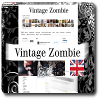 Grab button for Vintage Zombie