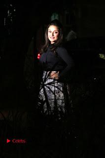 Actress Sonia Agarwal Stills in Black Top at Yevanavan Tamil Movie Audio Launch Event  0021.jpg