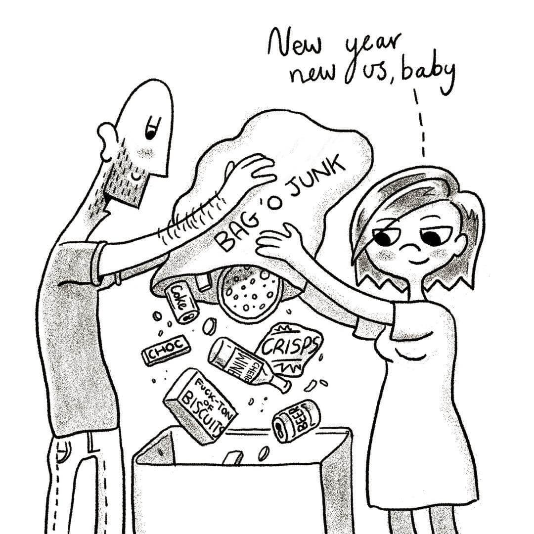 55 Amusing Illustrations Depicting The Fascinating Daily Life of Couples
