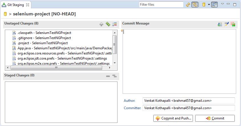 QA BABU: How to upload Selenium project to GitHub?