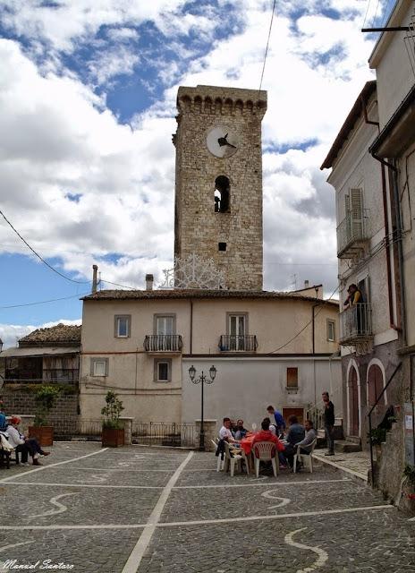 Cocullo, torre medievale