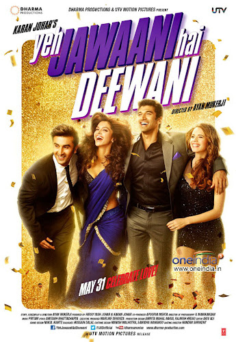 Yeh Jawaani Hai Deewani (2013) Movie Poster