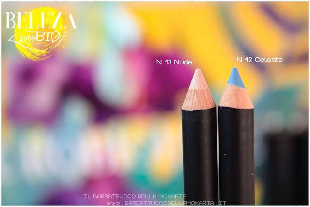 beleza purobio eyepencil matite 43 nude 42 celeste