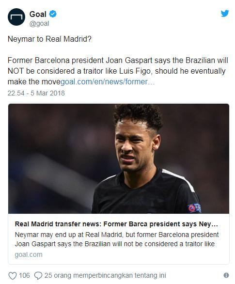 Neymar Twitter