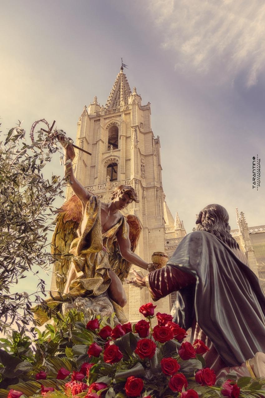Oración en el Huerto. Cofradía Cristo del Gran Poder. León. Foto. Danilo Tarantino.