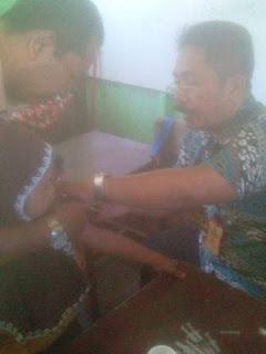 Pemberian Imunisasi Campak Anak Kelas I Tahun 2016