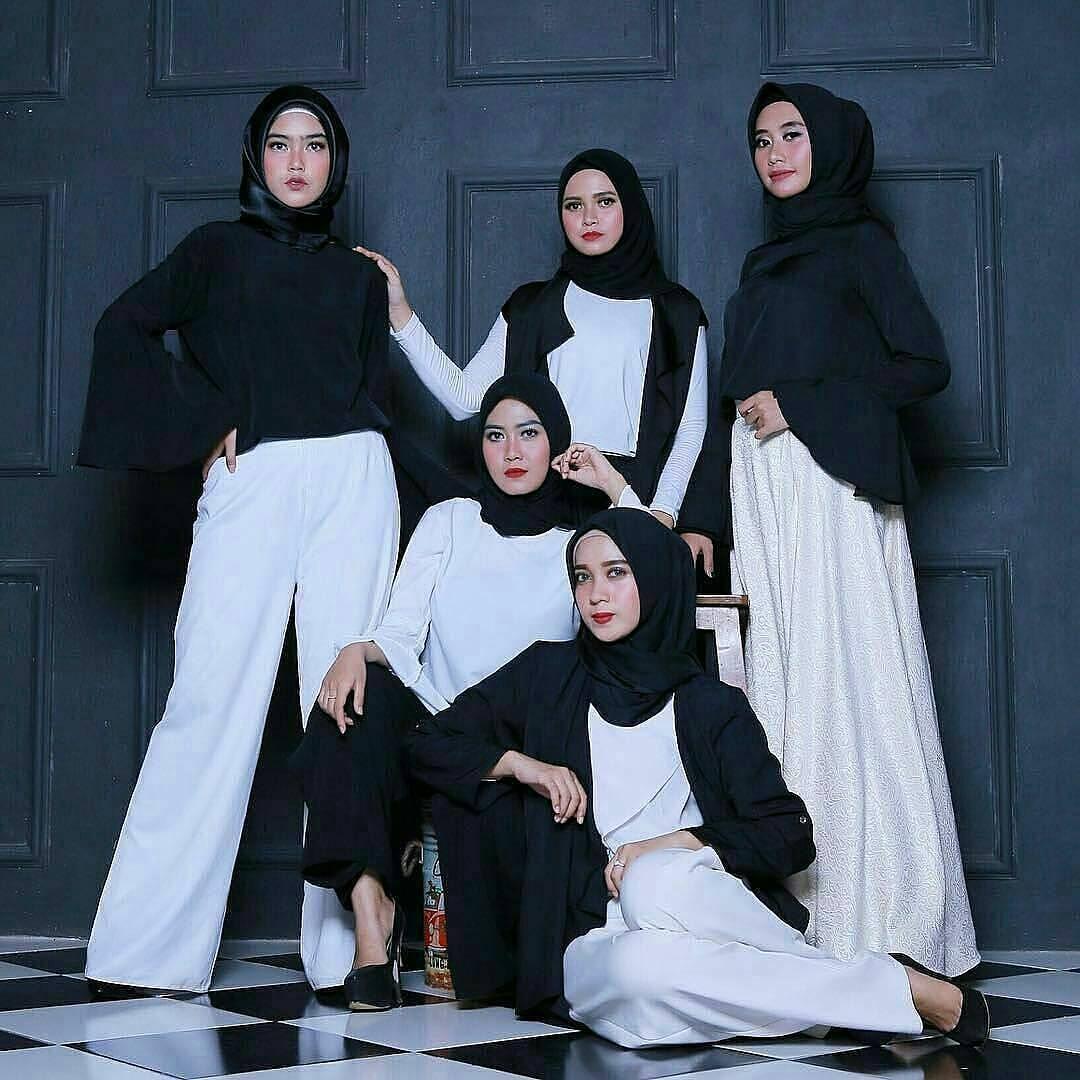 Baju Muslim Simple 2018