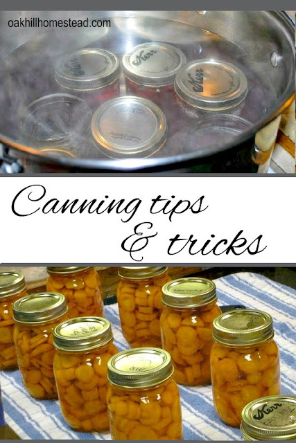 Canning tips and tricks I learned from Dr. Barbara Brown, Oklahoma's canning expert.