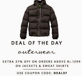 Jackets & Sweat Shirts - Flat 37% Extra Off
