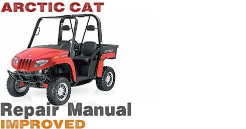 Atv Service Repair Shop Manuals Online 2008 Arctic Cat border=