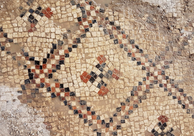 1,500 year old Byzantine mosaic uncovered in Israel