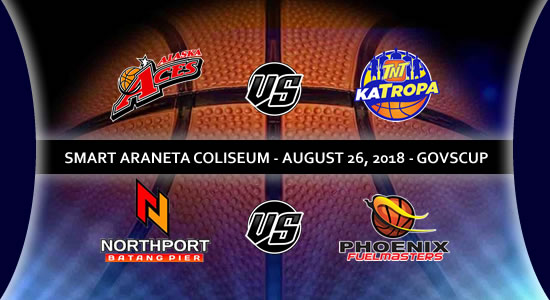 List of PBA Games: August 26 at Smart Araneta Coliseum 2018 PBA Governors' Cup