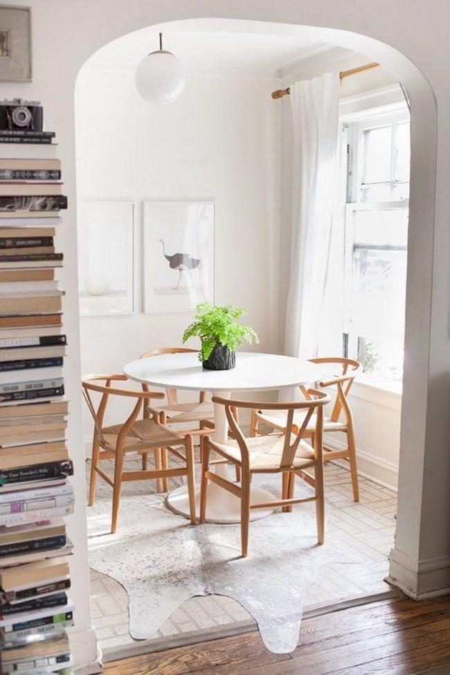 13 fotos de comedores peque os modernos - Mesas para comedores pequenos ...