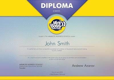 diploma miniboss example