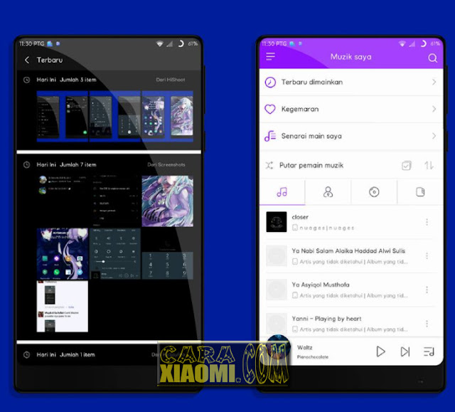 Download MIUI Thema Full Black V2