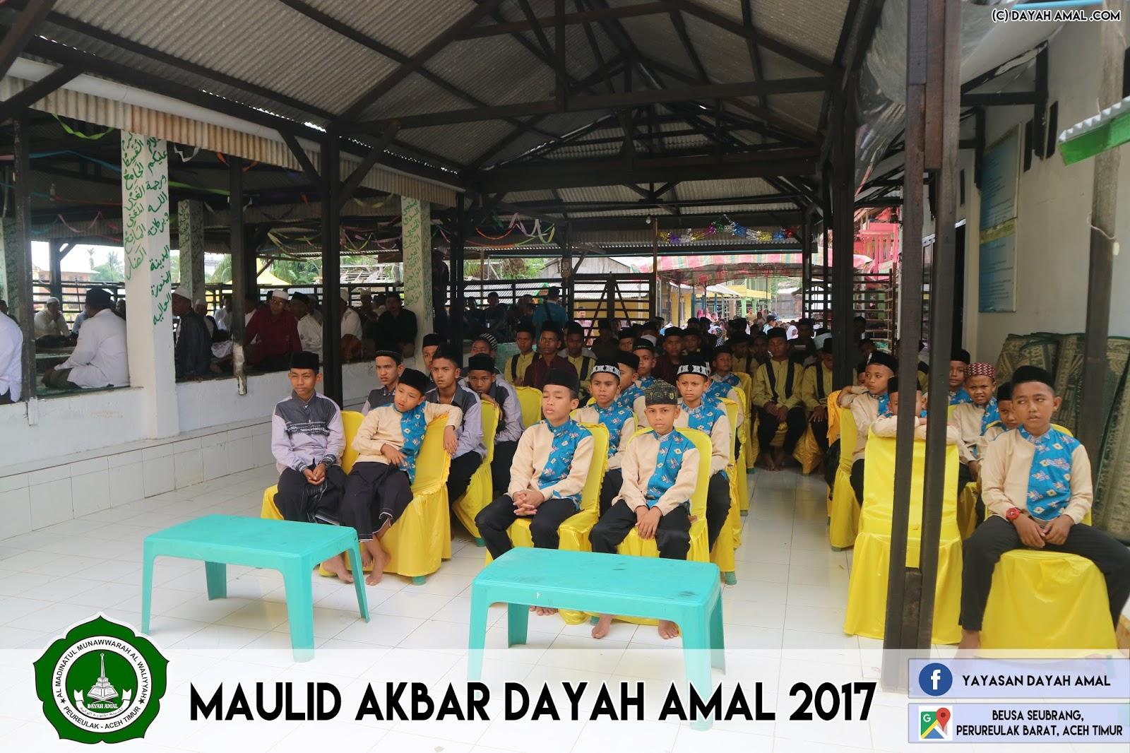 Maulid Akbar Dayah AMAL 2017