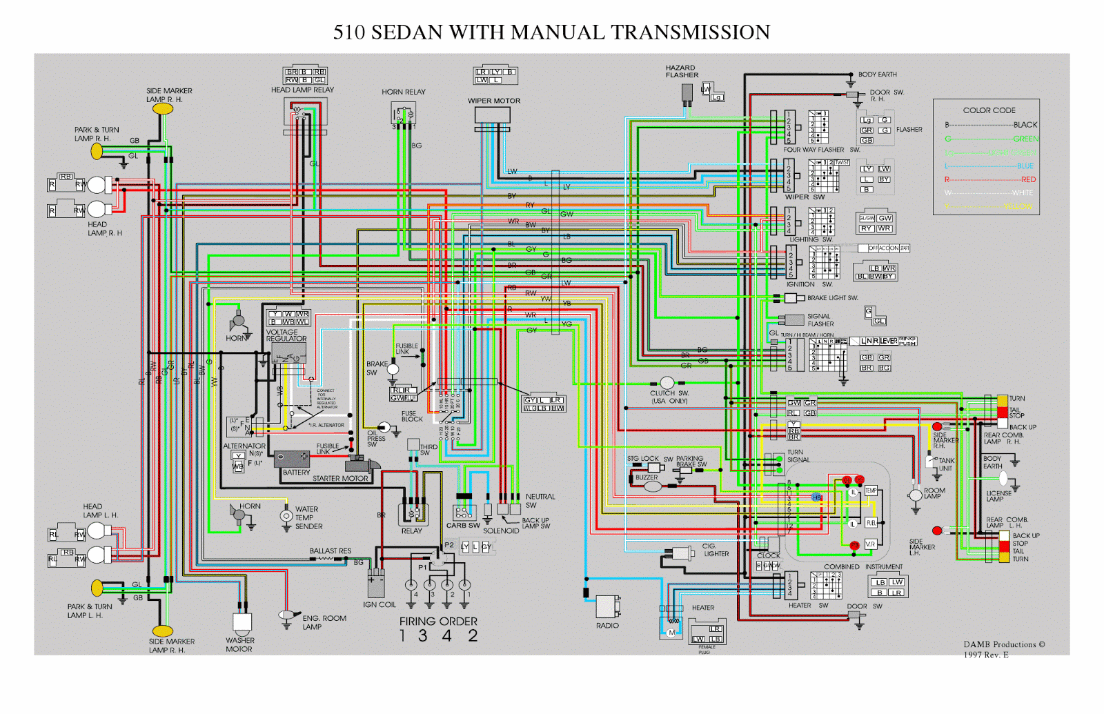 datproject wiring fuel gaugealthough that wiring diagram is for a 1970 datsun 510 w manual transmission [ 1600 x 1035 Pixel ]