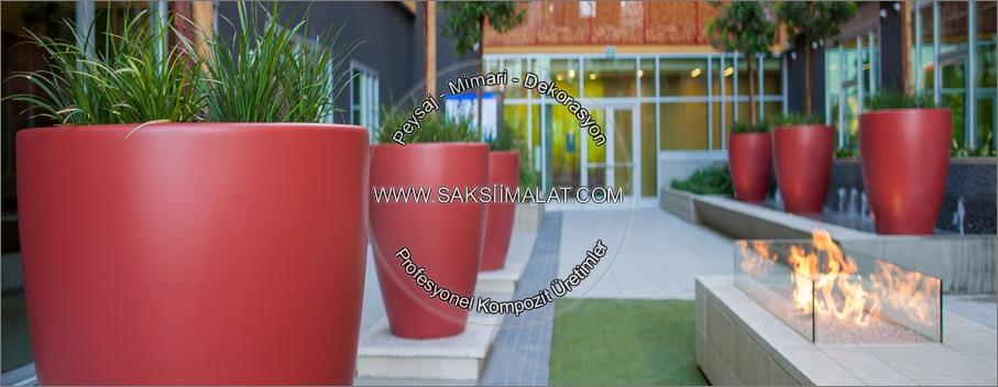 Polyester saksı modelleri - Bahçe için saksı fikirleri - Saksı imalatçısı - Fiber saksı üretimleri - Kompozit üretim tasarımları - Bitkilik - Teras uygulamaları - Kaldırım saksıları - Saksı fiyatları - Saksısı uygulamalı görseller - Büyük boy bitkilik imalatı