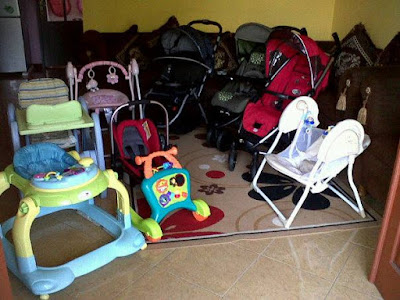 Menyewa Perlengkapan Bayi