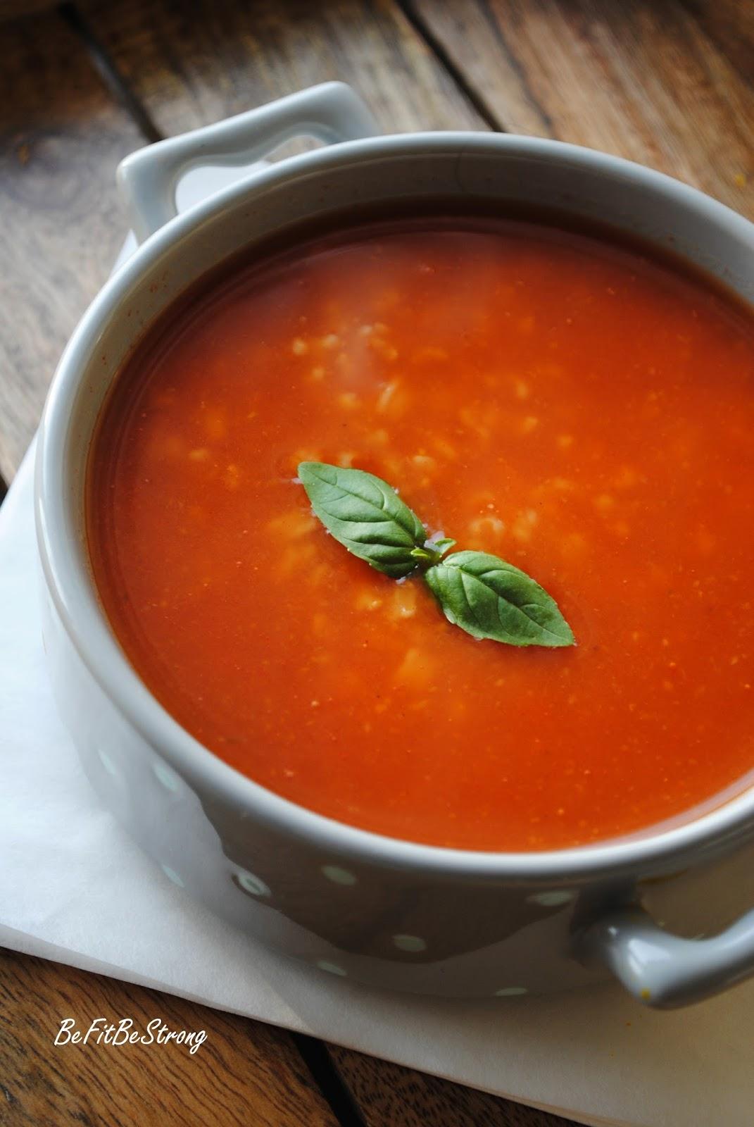 Studencka Zupa Pomidorowa Pomidorówka Z Ryżem Dla Bardzo Głodnych