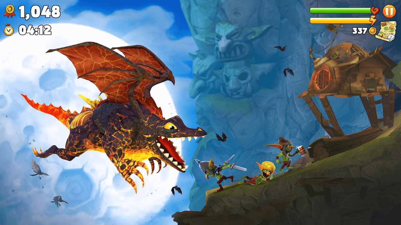 Hungry Dragon MOD Dinheiro Infinito 3.10