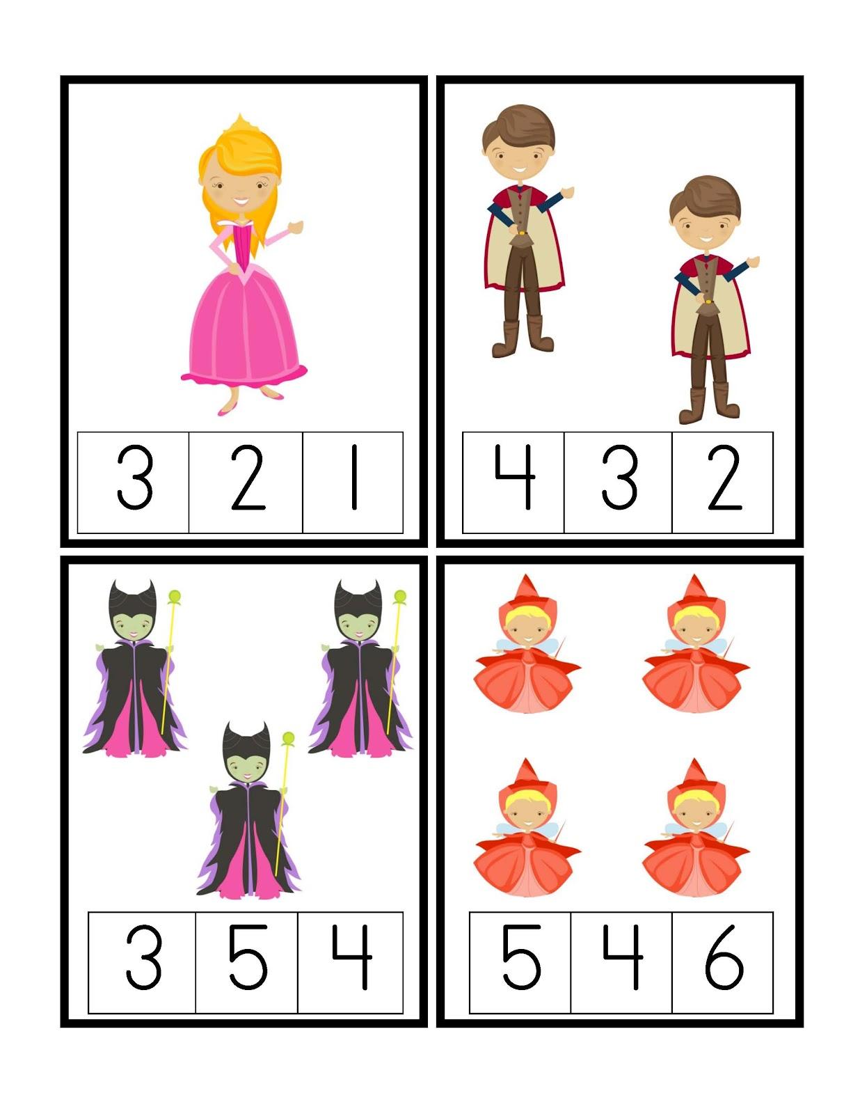 Preschool Printables May