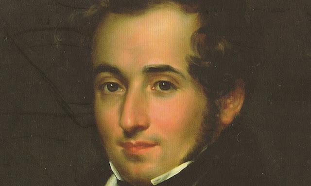 Vincenzo Bellini in einem Gemälde von Pietro Lucchini