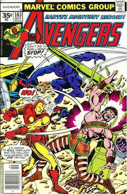 Avengers #163, Iron Man vs Hercules