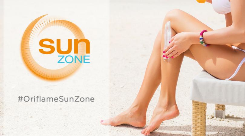 Campanha Oriflame Sun Zone