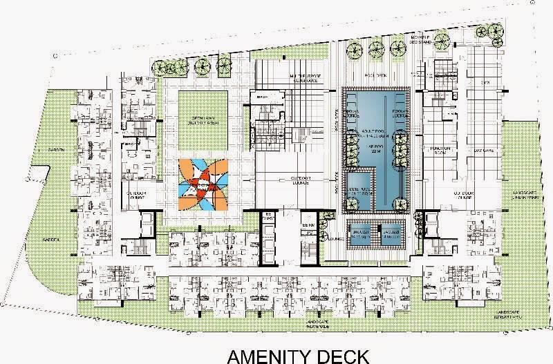 Ascentia Condominium Aminity Deck View