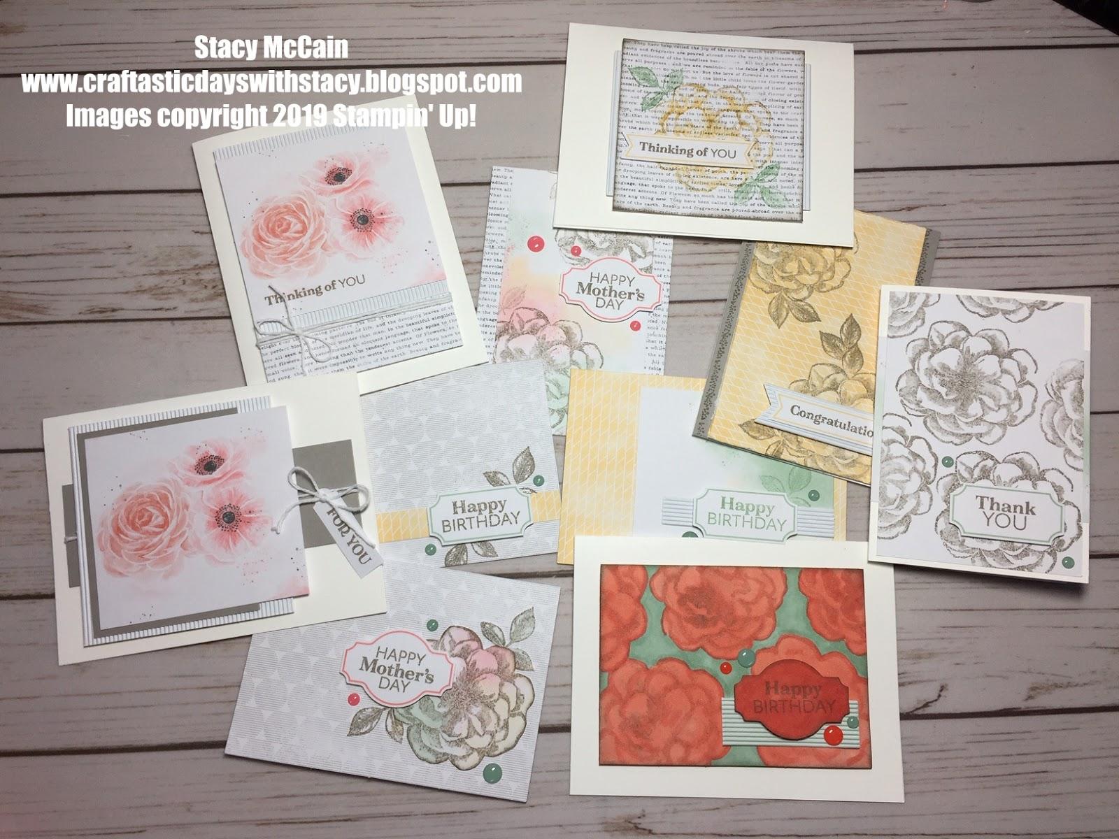 Paper Pumpkin April 2019 Card Ideas Craftastic Days with Stacy: April 2019 Alternative Paper Pumpkin