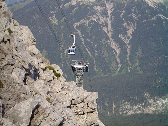 Teleférico Zugspitze Cable Car – Áustria