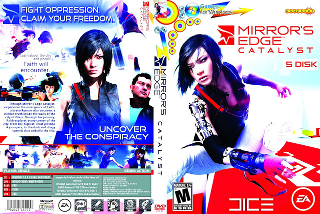 Capa Mirros Edge Catalyst PC