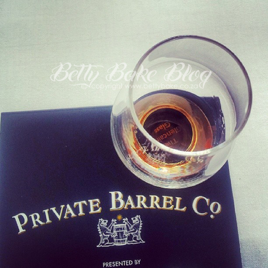 whisky, whiskey, private barrel co, cape grace, signal restaurant, whisky and food pairing, event