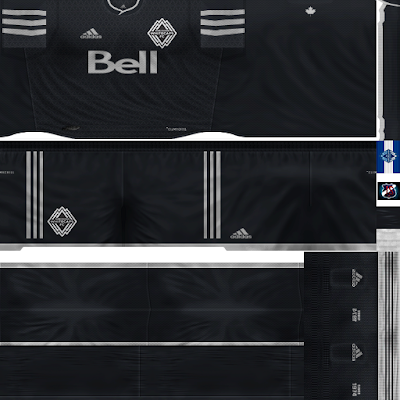 PES 6 Kits Vancouver Whitecaps Season 2018/2019 by JeremySvr