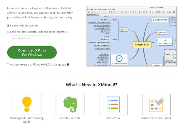 XMind + Evernote 心智圖筆記術的桌面同步工作流程 xmind%2Bevernote-01